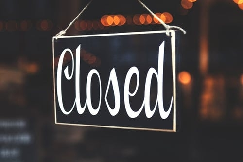 Office Closure Notice - Friday and Monday