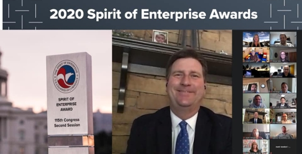 Greg Stanton Receives Spirit of Enterprise Award